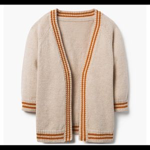 Gymboree boys metallic striped cardigan 3T